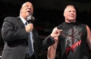 PAUL HEYMAN Y BROCK LESNAR