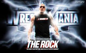 The rock wrestlemania 30