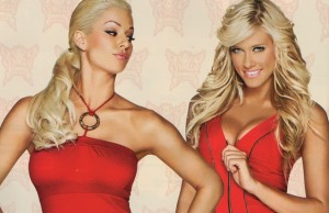 Kelly Kelly y Maryse wwe