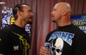 Stone cold vs cm punk