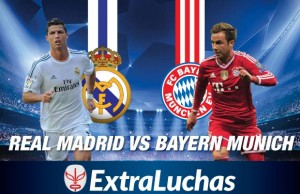 Real Madrid vs Bayern Munich Champions 2014 CR7 vs Gotze