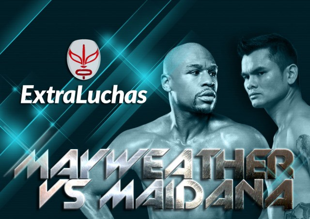 Pelea Mayweather vs Maidana 2014