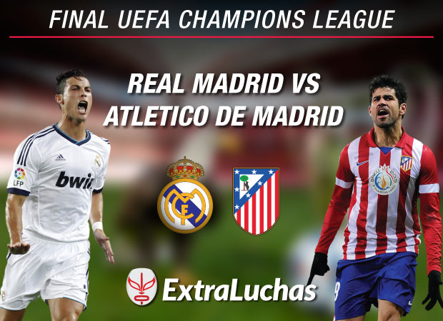 Real Madrid vs Atletico de Madrid Final Champions 2014