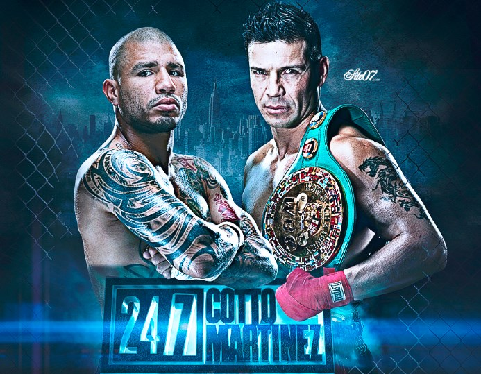 Sergio Maravilla Martinez vs Miguel Cotto