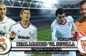 Real Madrid vs Sevilla SuperCopa