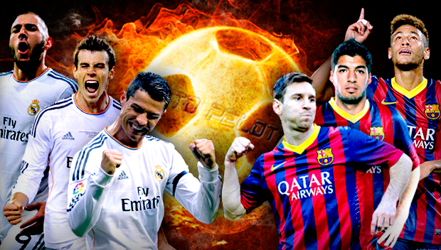 BBC vs MSN - Real Madrid vs Barcelona