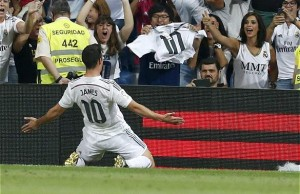 Gol de James Rodriguez Real Madrid