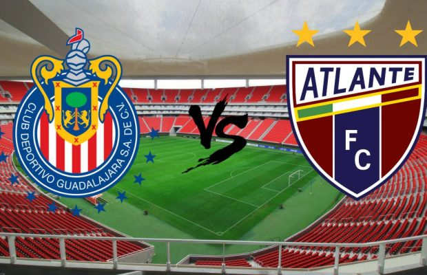 Chivas vs Atlante En Vivo Copa MX 2017