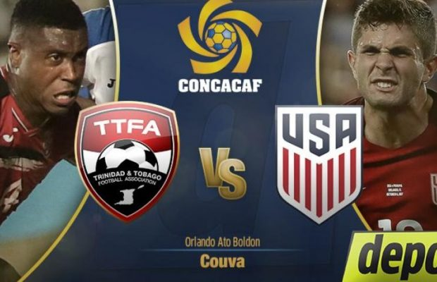 Estados Unidos vs Trinidad y Tobago En Vivo Eliminatorias Rusia 2018